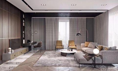 常州星河国际 中式风格三房装修设计效果图欣赏
