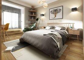 50平米老房装修改造小户型北欧简约风格装修效果图