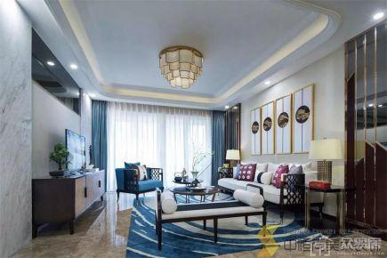 新中式三居装修效果图 新中式风格家庭装修设计