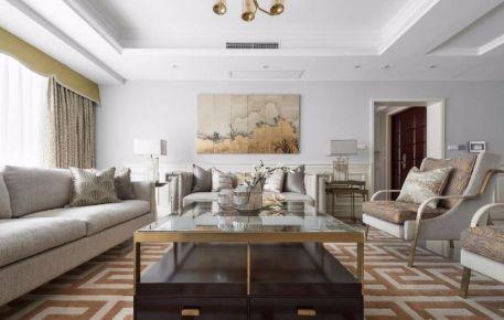 永丰公寓 现代风格四房装修设计