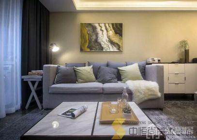 西安|简约风格家庭装修设计效果图
