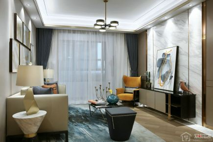 宁波星光御墅 现代风格三房装修设计案例