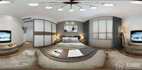 泰禾红誉 简约风格三房装修设计平面图