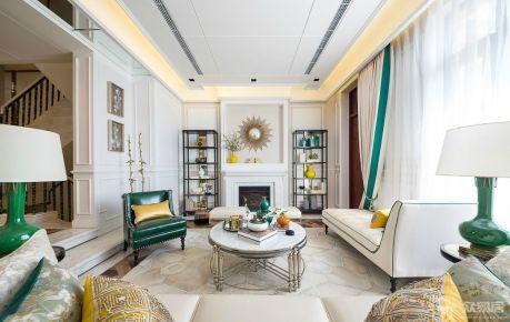 地中海风格四房装修设计  地中海风格家庭装效果图