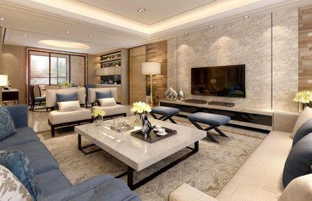 典雅 简约风格四房装修设计
