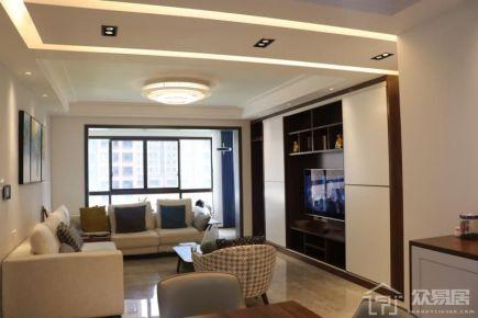 雅致主义设计装修 现代风格四房装修效果图