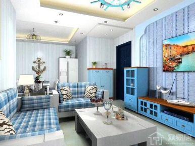 三河市青年新城 簡約風格兩房裝修效果圖