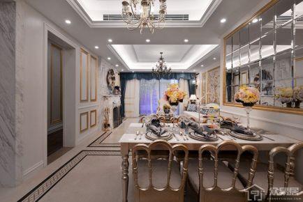 北京顺义区仁和花园东区 欧式风格三房装修效果图