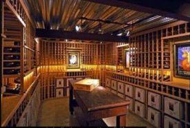 翠屏庄园酒窖装修 法式风格酒窖装修效果图