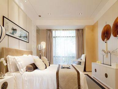 清新淡雅现代中式风格三居室 现代中式风格装修效果图