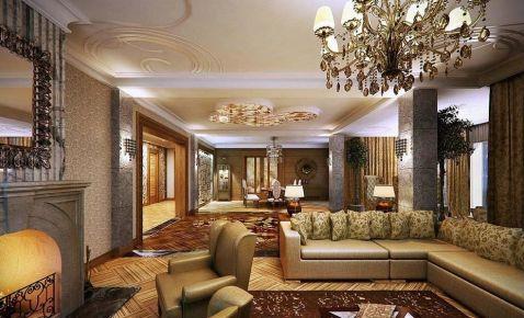翰林园 欧式风格家庭装修设计效果图