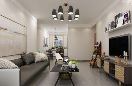 北欧风格家庭装修案例  北欧风格三房装修效果图