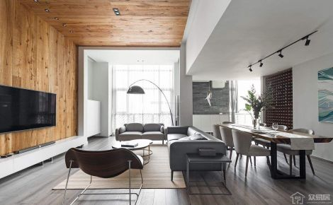 極致現代風格兩房裝修 現代風格家庭裝修效果圖欣賞