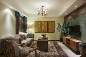 波西米亚风格风格三居室装修案例