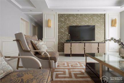 珠海新现代风格装修效果图 现代风格三房装修设计案例