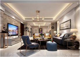 昆山娄汀苑婚房装修装修 简约风格两房装修效果图