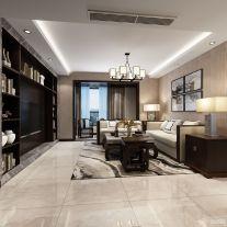 开元第一城140㎡ 三居室中式风格装修效果图