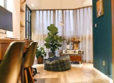 混搭风格两房装修设计 创意混搭风格家庭装修效果图