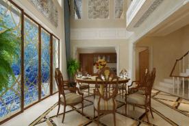 苏州三居室中式装修风格-美的冒泡