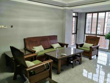 花园城新中式三居室装修设计案例