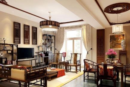 苏州欧式风格三居室装修设计案例