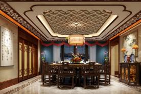 绍兴中式风格四居室装修效果图