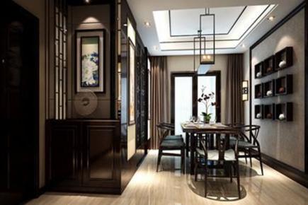 徐州中式风格复式楼装修效果图大全
