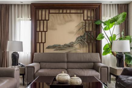 徐州现代风格三居室装修效果图