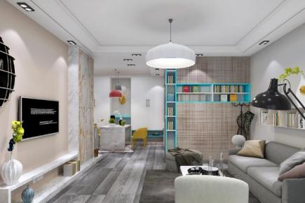 苏州北欧极简主义风格两居室装修