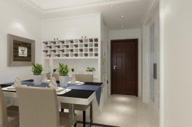 现代简约小三房装修设计 现代风格家庭装修效果图