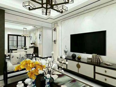静 中式风格四房装修效果图欣赏