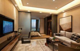 单身公寓装修设计 现代风格小户型装修效果图