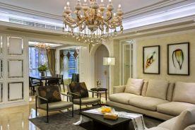 欧雅四房装修设计 欧式风格家庭装修效果图