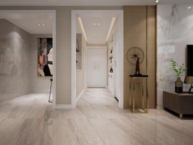 轻奢简约风格四房装修设计 低调奢华的家庭装修案例