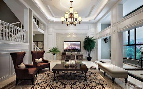舒适的美式风格别墅装修设计效果图