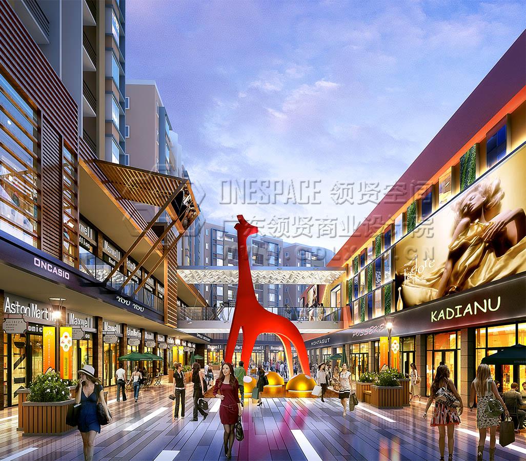 百货超市设计作品:河源东方广场设计案例