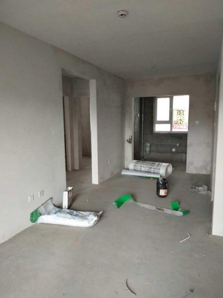 青岛英格堡家园 顶尖装饰装修施工现场