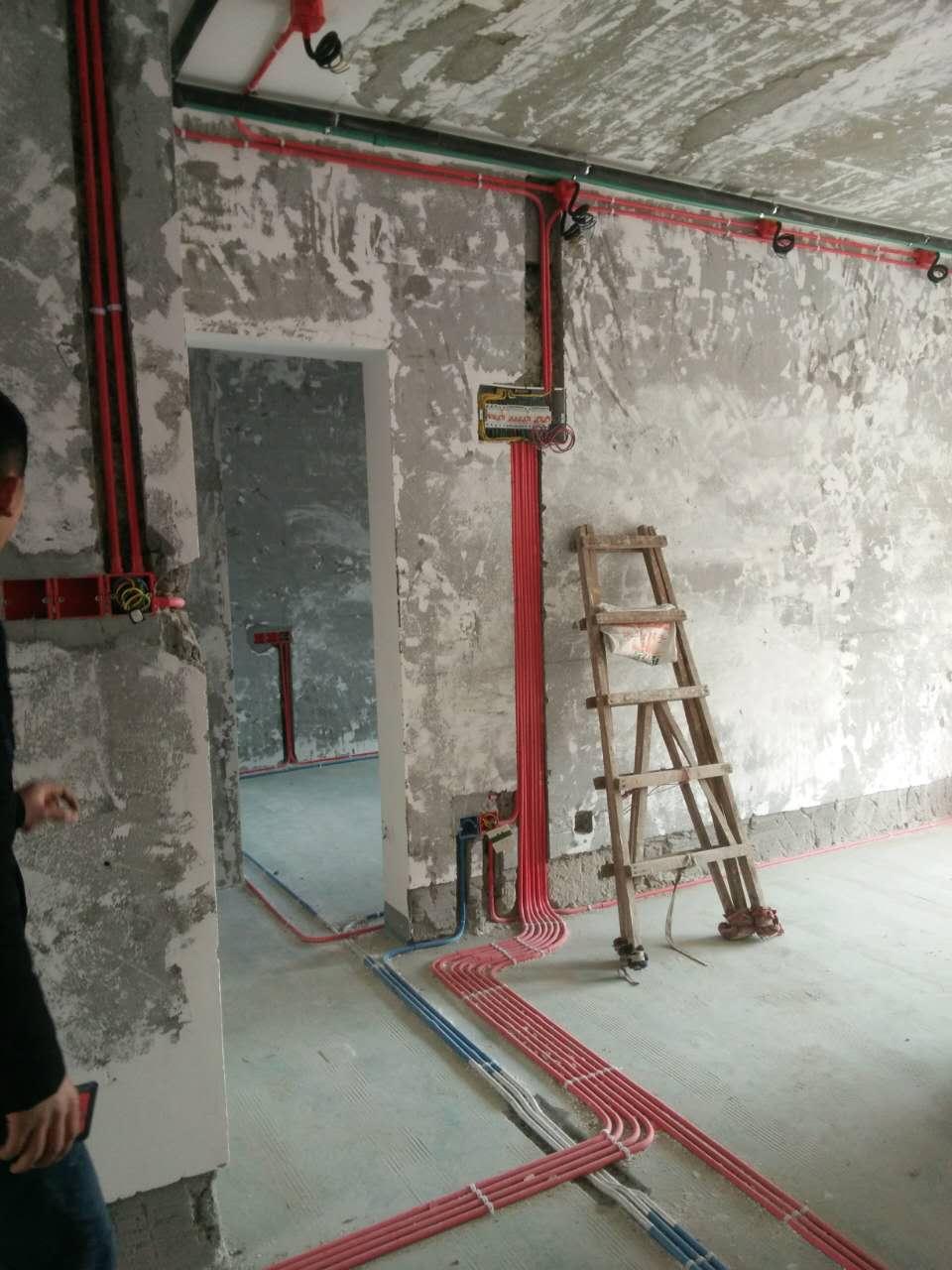 扬州京杭融园在建工地