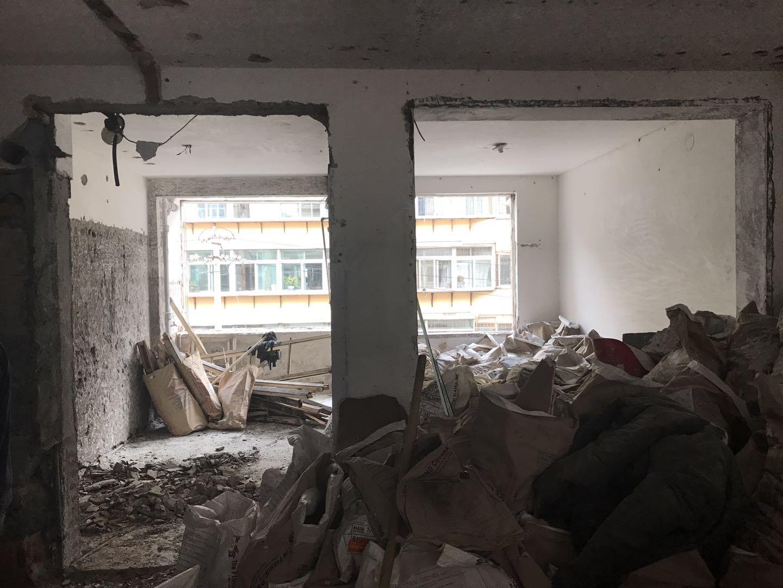 烟台芝罘区华茂街旧房改造装修