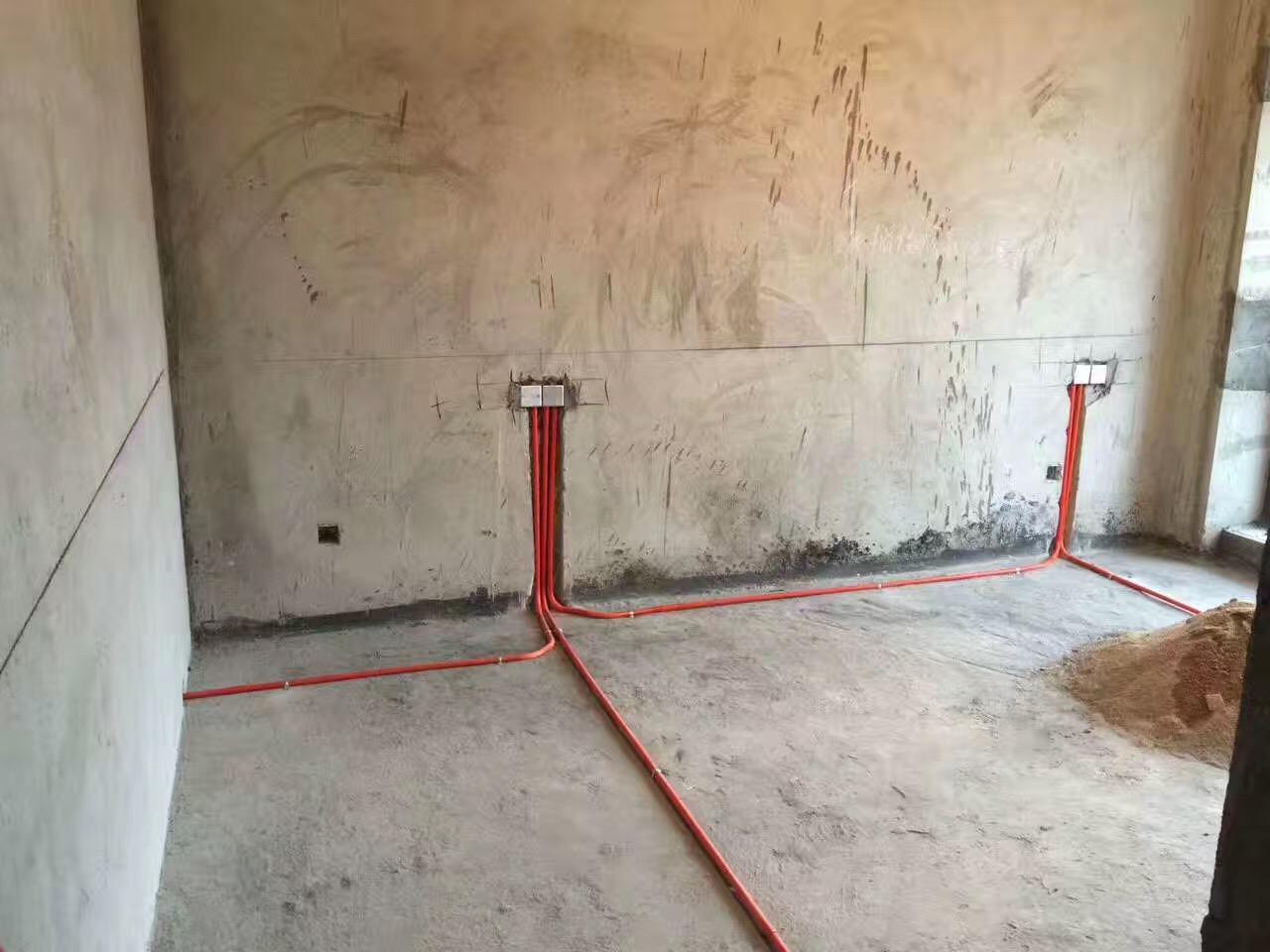 泉州上实海上海小区家庭装修现场