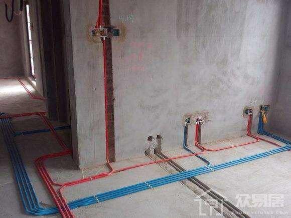扬州砚池小区家庭装修施工现场