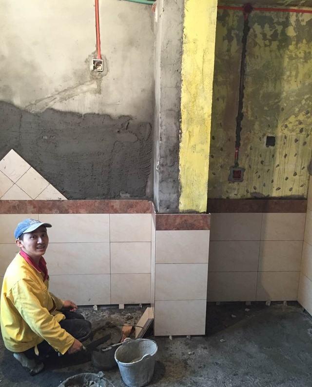 重庆CBD小区家装施工现场分享