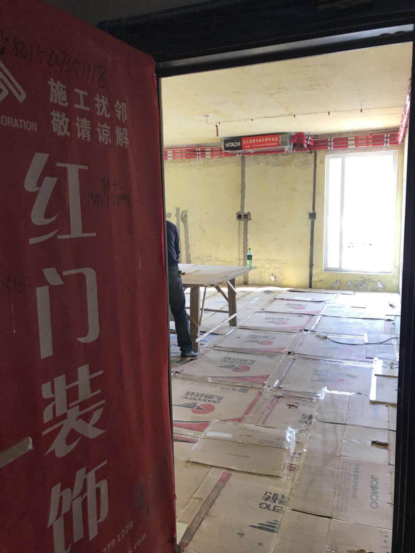 武汉江夏区当代安普顿小镇在建工地
