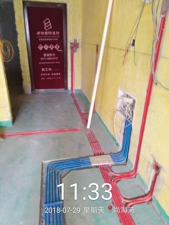 杭州郡望府小区在建工地