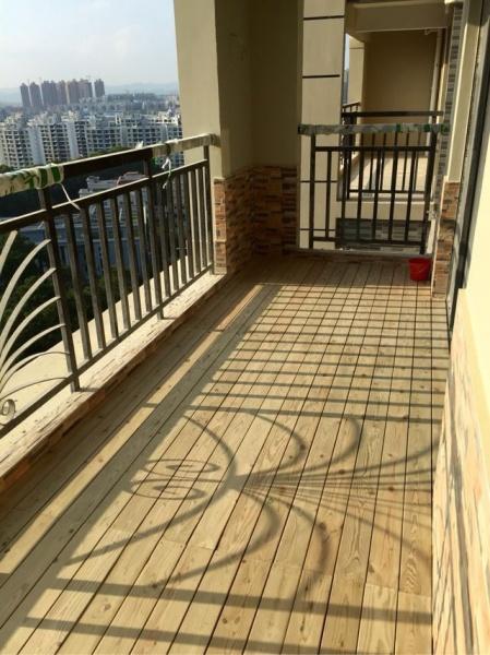 宁波悦湖湾两房北欧风装修现场