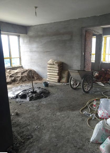 温州城南家园在建工地施工现场
