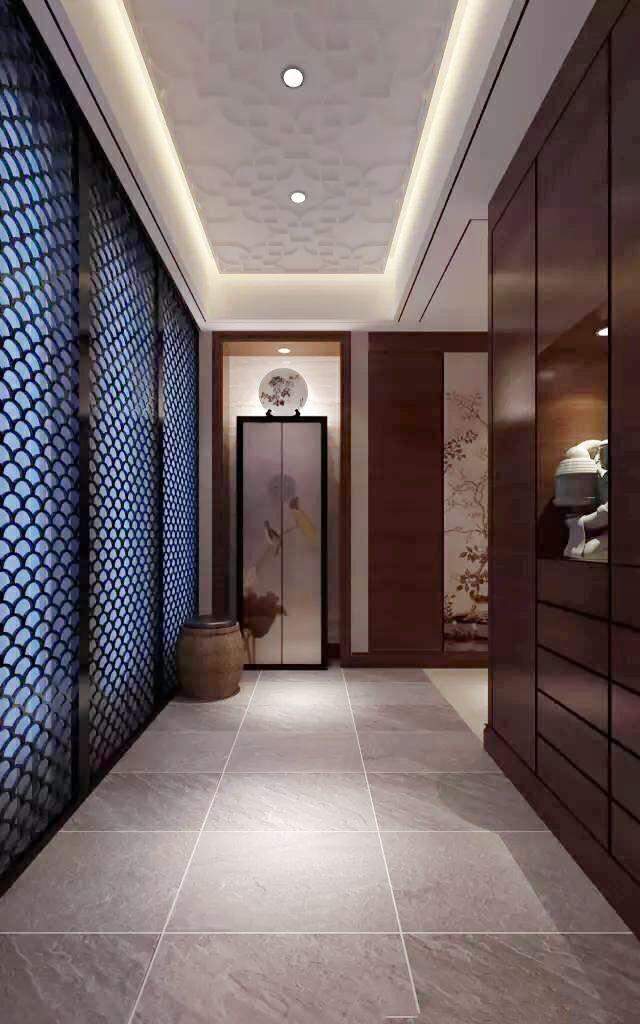 新中式走廊设计方案 优美案例分享