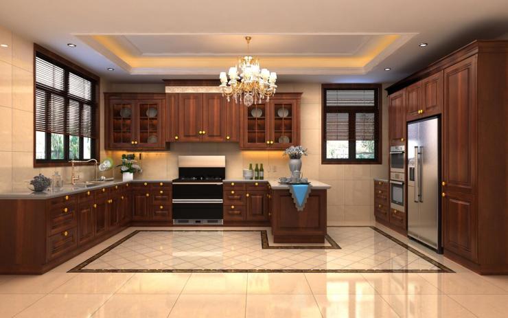开放式厨房如何设计 开放式厨房集成灶