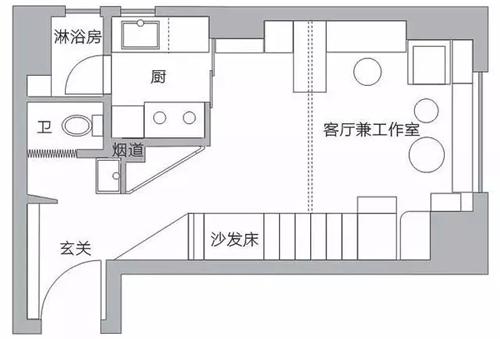 武汉30㎡小户型巧妙设计百变空间