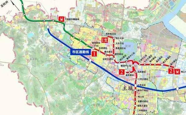 绍兴欲建通勤铁路 三区通勤只需30分钟